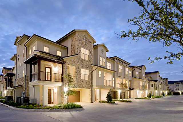 Houston apartments with garages