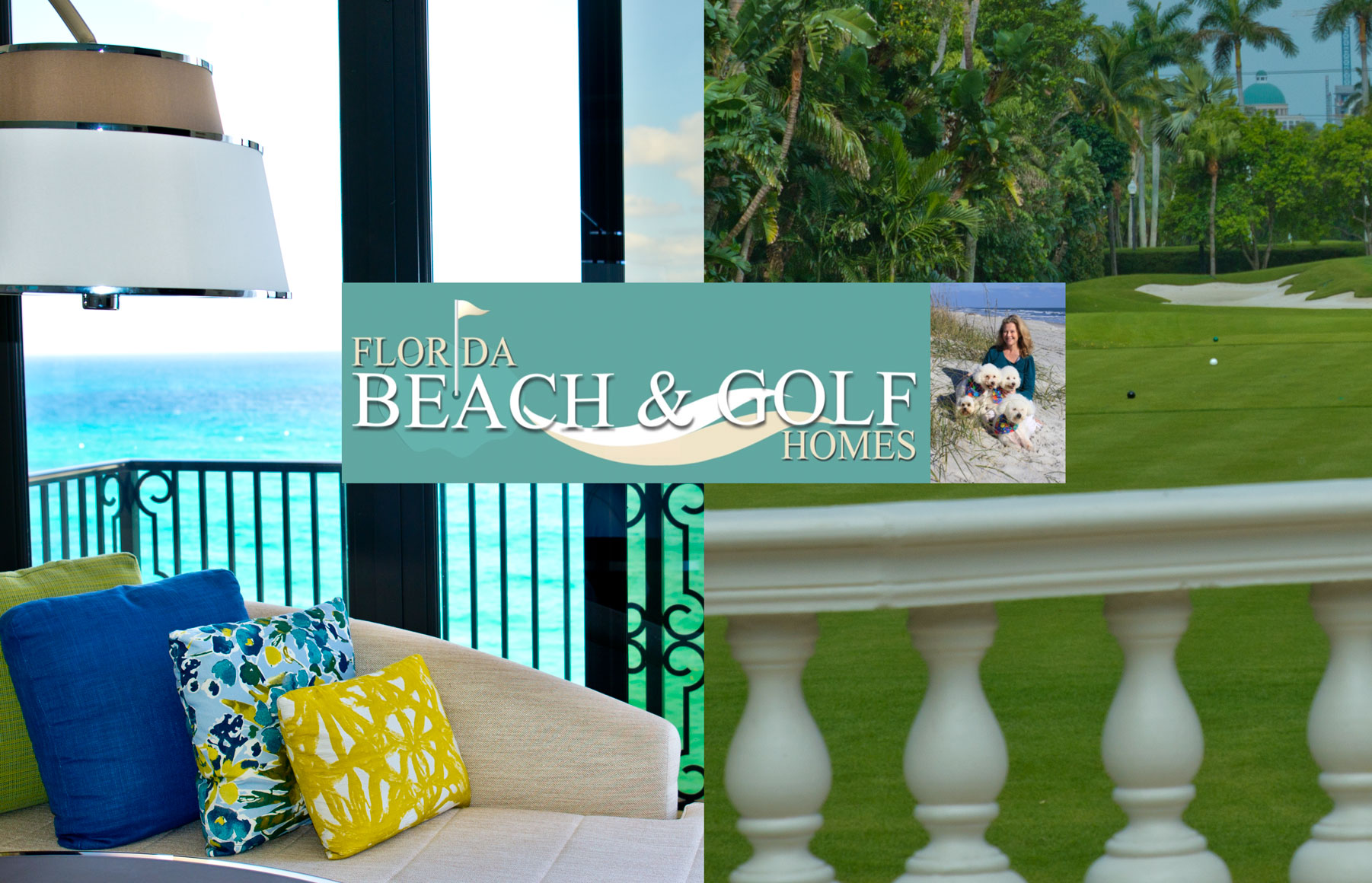 Beach and Golf Homes Header Phtotgraphy