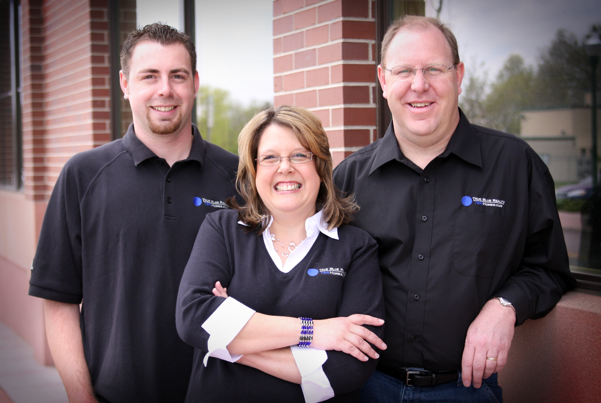 True Blue Realty Team Photo