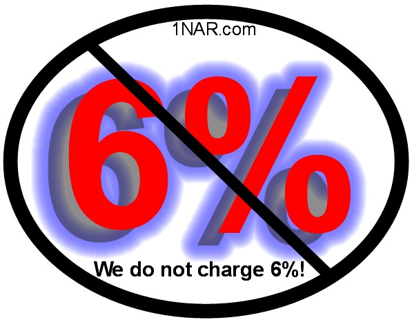 We do not charge 6%! image