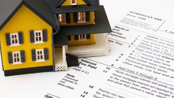 Homeowners can deduct the mortgage interest for their primary residence on their taxes.